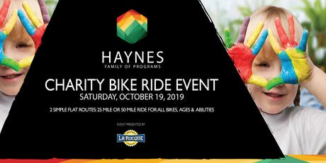 Haynes Family of Programs Charity Bike Ride tickets