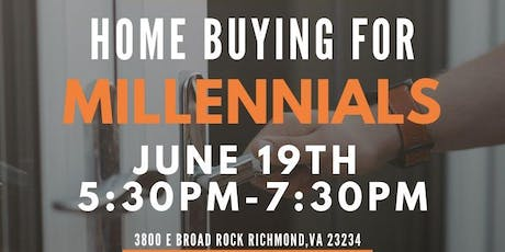 SCSVA Workshop Wednesday presents... Home Buying For Millennials Workshop  tickets