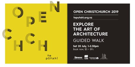 Open Christchurch: Explore the Art of Architecture tickets