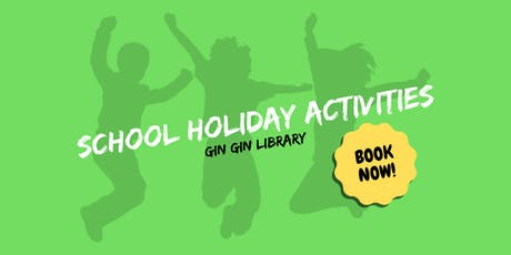 Sock Puppets - School Holiday Activity - Gin Gin Library tickets