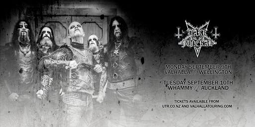 Dark Funeral NZ Tour - Wgtn