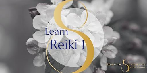 Learn Reiki 1