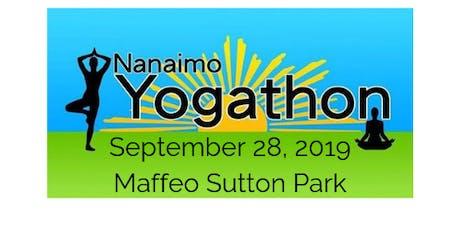Nanaimo Yogathon tickets
