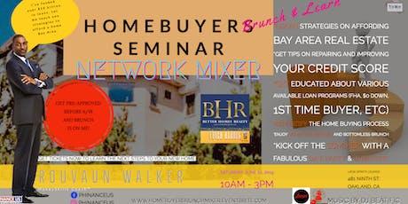 Home Buyer Seminar Brunch & Learn Networker tickets