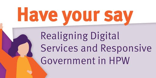 Realigning Digital Services and Responsive Government - Q&A session