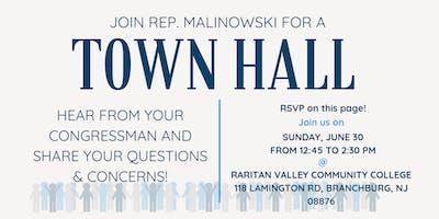 Town Hall with Congressman Tom Malinowski