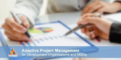 Online Course: Adaptive Project Management for Development (November 18, 2019)