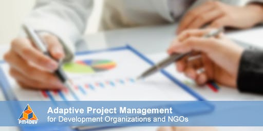 Online Course: Adaptive Project Management for Development (November 18, 2019)