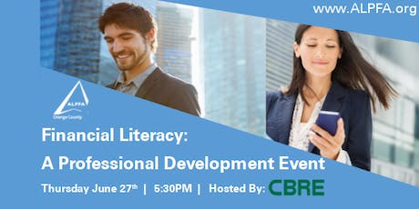 ALPFA OC  Professional Development Series: Financial Literacy tickets