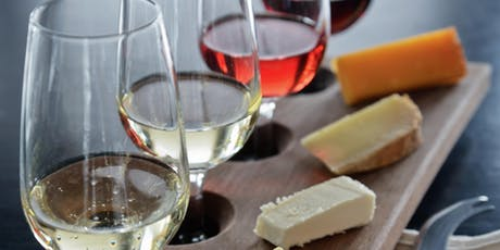 Old World versus New World Wine and Cheese pairing tickets