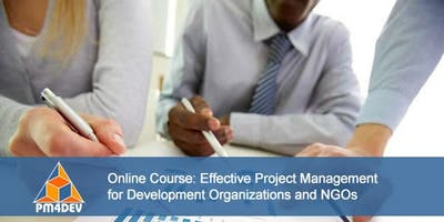 Online Course: Effective Project Management for Development (November 18, 2019)