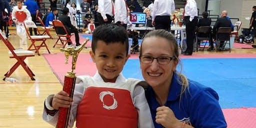 Global Martial Arts Kick-a-thon and Fitness competition