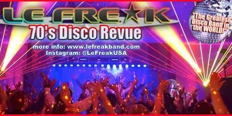 Le Freak tickets