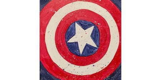 "Open Paint (10yrs+) ""Captain America"""