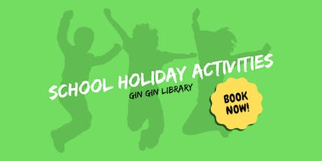 Cracked Footpath Art - School Holiday Activity - Gin Gin Library tickets