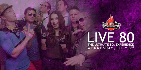 Live 80s tickets
