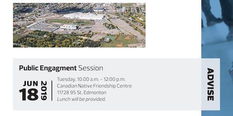 Exhibition Land Development project- Community Conversation tickets