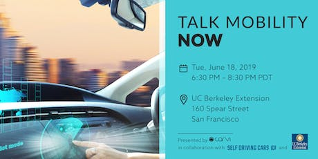 Talk Autonomous Cars - Networking tickets