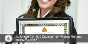 CDPM-I: Advanced Certified Development Project...