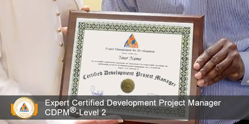 CDPM-II: Expert Certified Development Project Manager, Level 2 (S6)