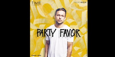 Party Favor Guestlist Info @ TIME Nightclub