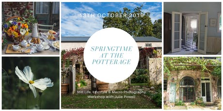 Springtime at The Potterage tickets