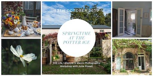 Springtime at The Potterage
