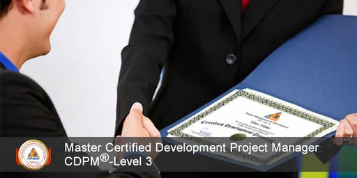 CDPM-III: Master Certified Development Project Manager, Level 3 (S8)
