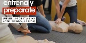 01/08 17HS CURSO RCP Y PRIMEROS AUXILIOS EN LA RIOJA