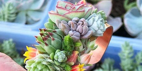 Succulent Cuff & Headband Workshop tickets