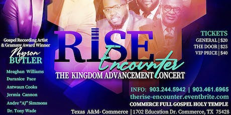 The Rise Encounter tickets