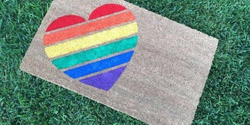 PRIDE Sip~N~Paint (Doormat Edition) - Charlotte NC