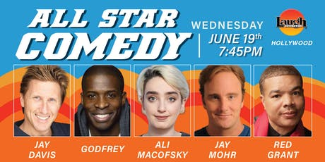 Jay Mohr, Godfrey, and more - All-Star Comedy! tickets