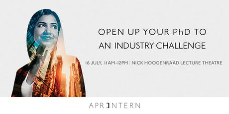 Open Up Your World: PhD Industry Internships tickets