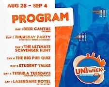 UNIweek Den Haag - Introduction Week logo