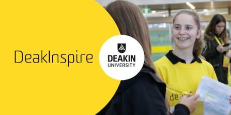 DeakInspire, Geelong Waurn Ponds Campus, Deakin University tickets