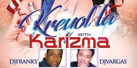 Kreyol la & Karizma   tickets