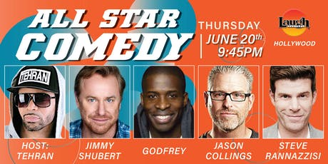 Godfrey, Jimmy Shubert, Steve Rannazzisi, and more - All-Star Comedy! tickets