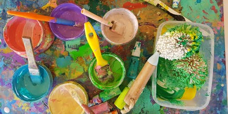 JULY SCHOOL HOLIDAYS: The Messy Paint and Play Playtime tickets