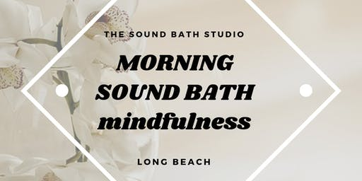 Morning Sound Bath Meditation* Recalibrate Your Body & Mind