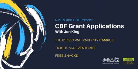 CBF Grant Applications Workshop tickets