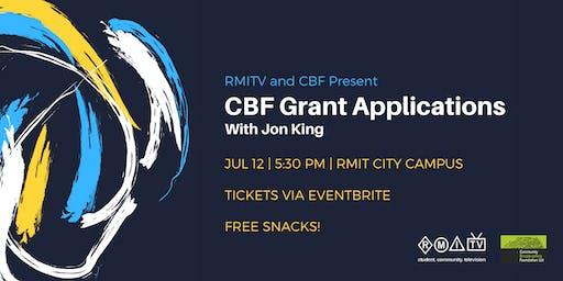CBF Grant Applications Workshop