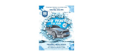 Car Wash for Kids 2019 - Memphis Sigma Beta Club tickets