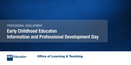 Early Childhood Education Information and Professional Development Day tickets