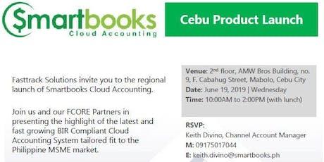 Smartbooks Regional Product Launch in Cebu tickets