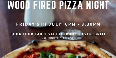 JULY WOOD FIRED PIZZA NIGHT - PHILIP SHAW WINES tickets