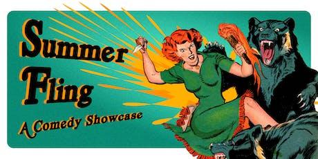 Summer Fling: A Comedy Showcase tickets