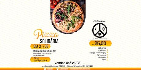 Pizza Solidária ingressos