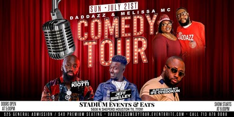 Daddazz & Melissa MC Comedy Tour tickets