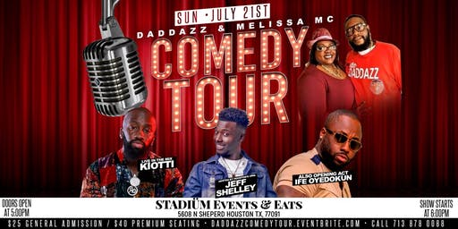 Daddazz & Melissa MC Comedy Tour